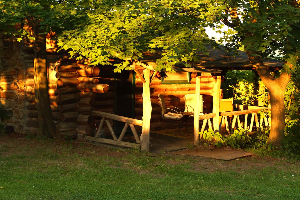 Rustic Log Cabins Cottages For Rent In Hector New York