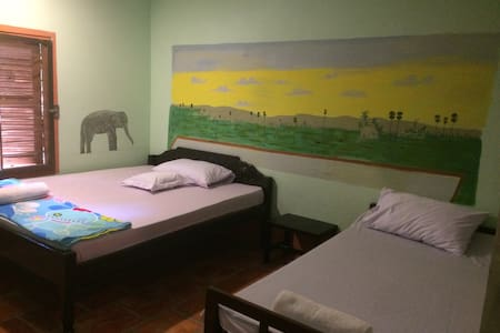 Authentic Cambodian Experience/CSH/ - Krong Siem Reap - Penzion (B&B)