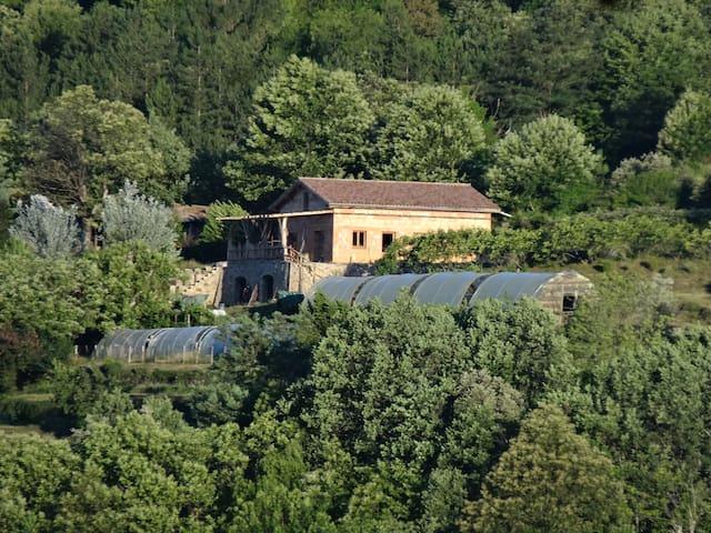 Gite a la ferme dans cadre exceptionnel - Rocles