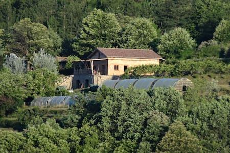 Gite a la ferme dans cadre exceptionnel - Rocles - 自然小屋