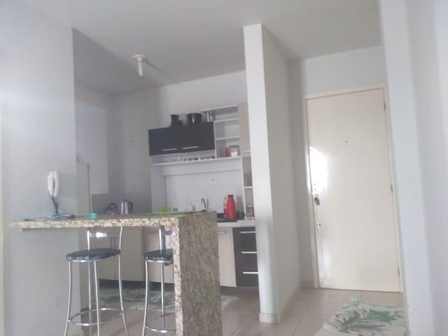 Aluguel Araranguá apartamento sala quarto e cozinh