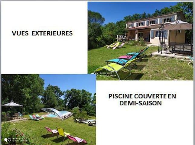 maison en campagne 3km Aix en Pr-ce