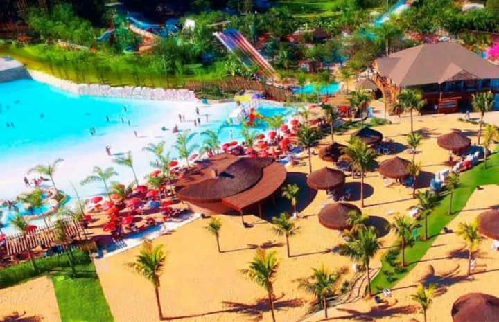 Condo Resort Jardins da Lagoa, Caldas Novas-GO .