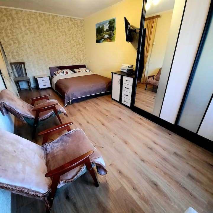 Cozy apartment near the center of Kharkov!
