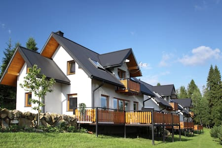 A comfortable detached house with a mountain view - Nowy Targ