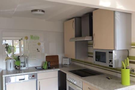 Wunderschöne, voll ausgestattete 2,5 Zi Wohnung - Guxhagen - Apartemen