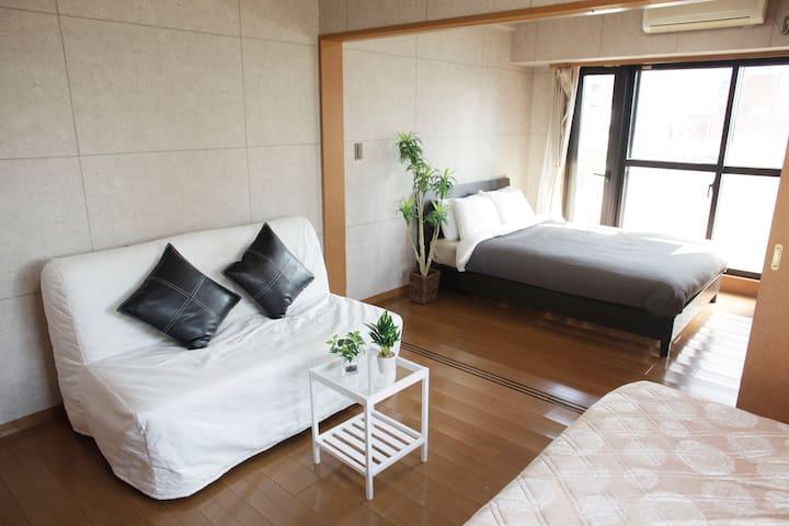 3min Sta | shinjuku | Free pocket wifi | 7guest - Shibuya-ku - Apartment