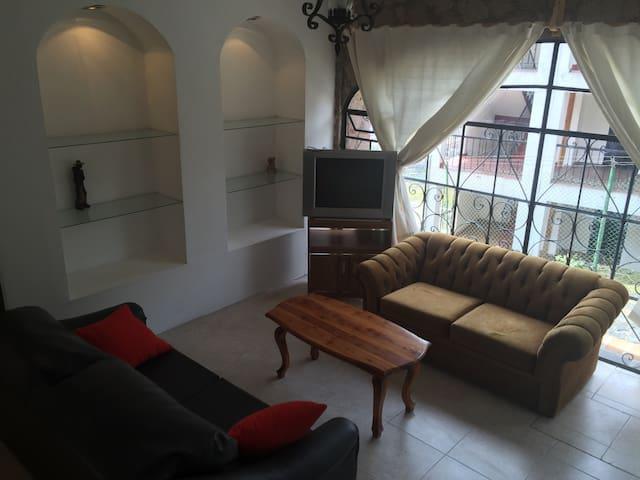 Lindo apartamento estilo colonial - Taxco