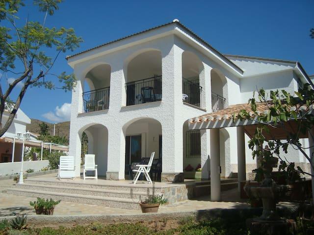 VILLA LA AZOHIA,ÉTAG/9pers.400m plage San Ginès - LA AZOHIA - House