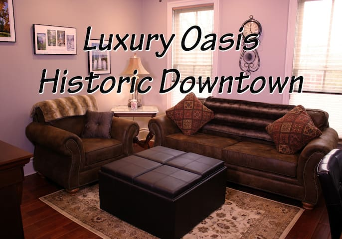 Luxury Oasis Historic Downtown 2BR