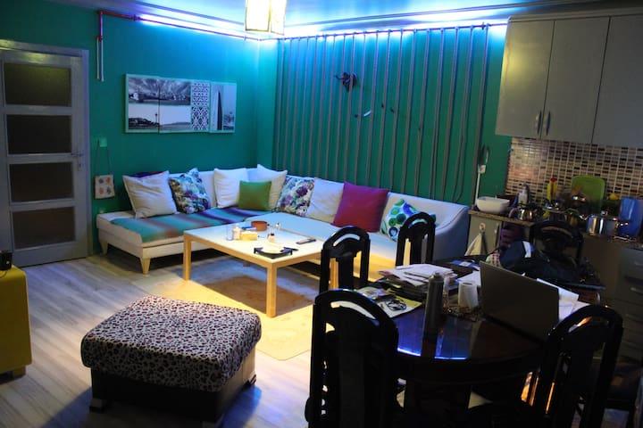 paylaşımlı ev 600 tl - Beyoğlu - อพาร์ทเมนท์