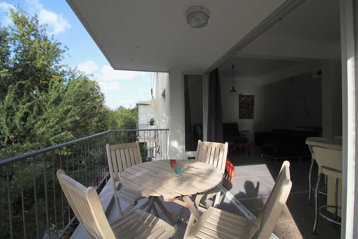 ~~Spacious, Quiet, 1bdm -SUNNY Balcony -Basel Area