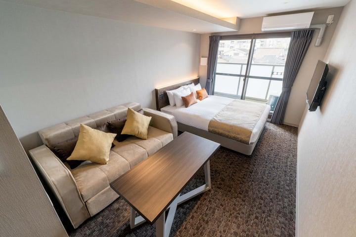 GOTOトラベル利用可!きれいな客室◆全改装済◆三条駅・鴨川すぐ◆コンドミニアム [シンプル]