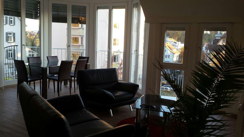 moderne zentral gelegne 3-Zimmer Wohnung - Tübingen - Departamento