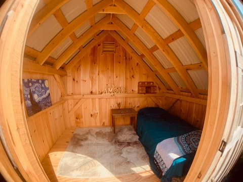 Serenity Meadows Firefly Show Hobbit Hole Cabin