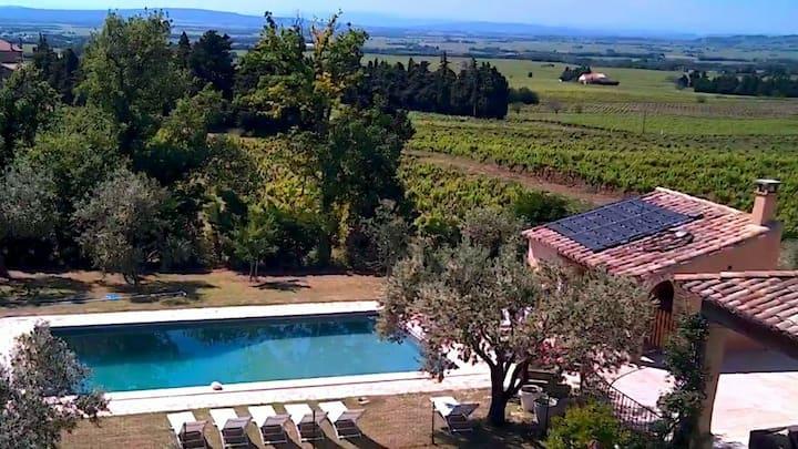 Luxevilla met zwembad te huur 12 pers Provence