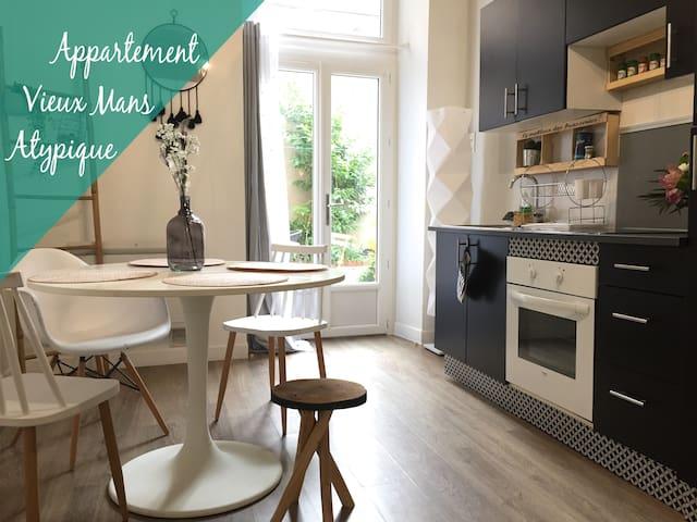 Appartement cosy - Vieux Mans - Centre Ville