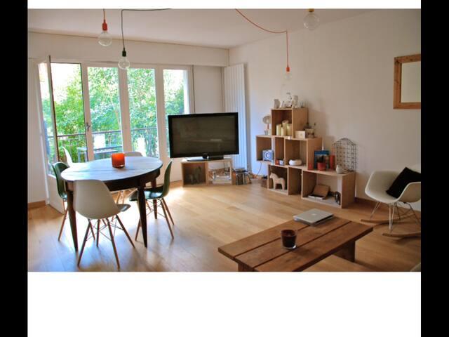 Rez de jardin centre ville à pied - Aix-en-Provence - Wohnung