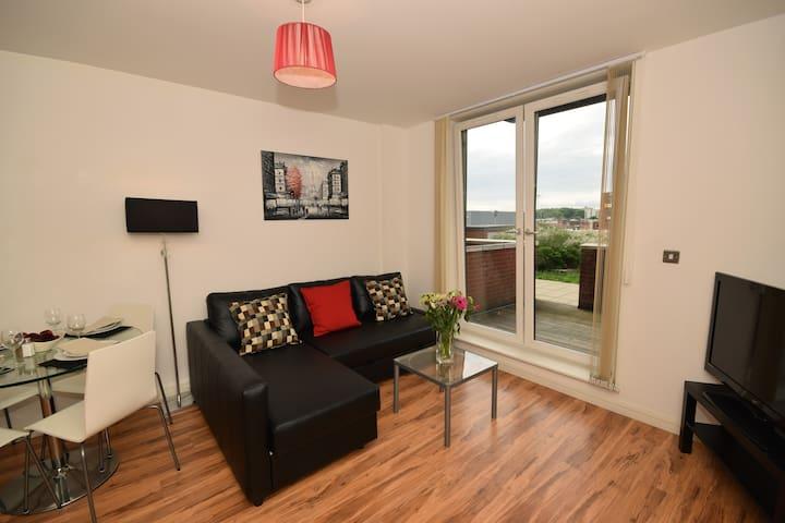 Luxury 1 bed apartment in Birmingham City Centre - Birmingham - Wohnung