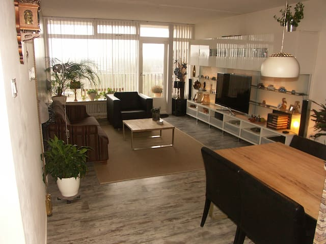 Beautiful appartment/ also for expats/business - Heerenveen - Apartemen