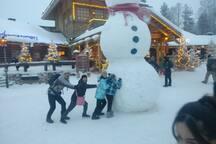 Snowman Training.
