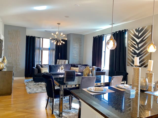 Open Dining-Living Room Space