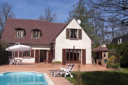A 30 min de Paris, belle maison  piscine chauffée - Lamorlaye