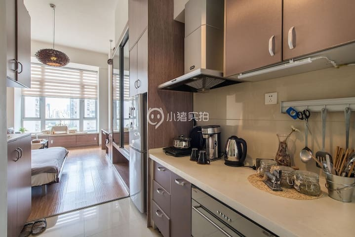 Cozy modern apt. near metro - Chengdu Shi - Appartement
