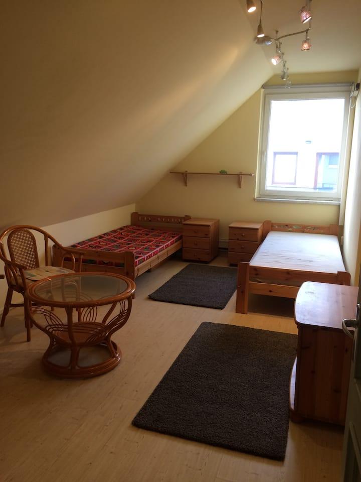 Egyetemek közelében lévő szoba