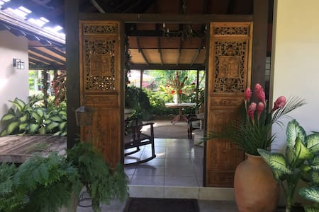 Beautiful Balinese setting
