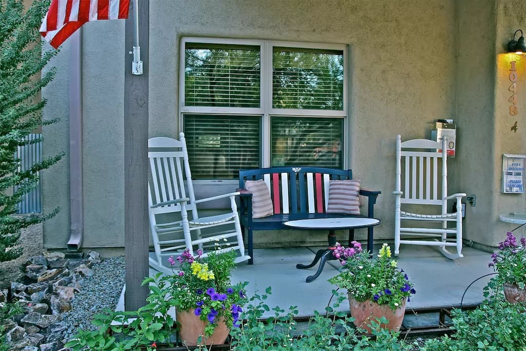 Relax on The Inn at Civano Front Porch, WIFI Available!