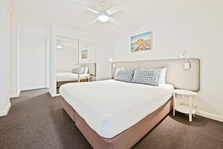 Quest Newcastle, 3 bedroom apartment.Newcastle CBD