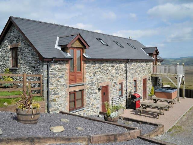 The Barn Llwyngwinau - Tregaron - Huis