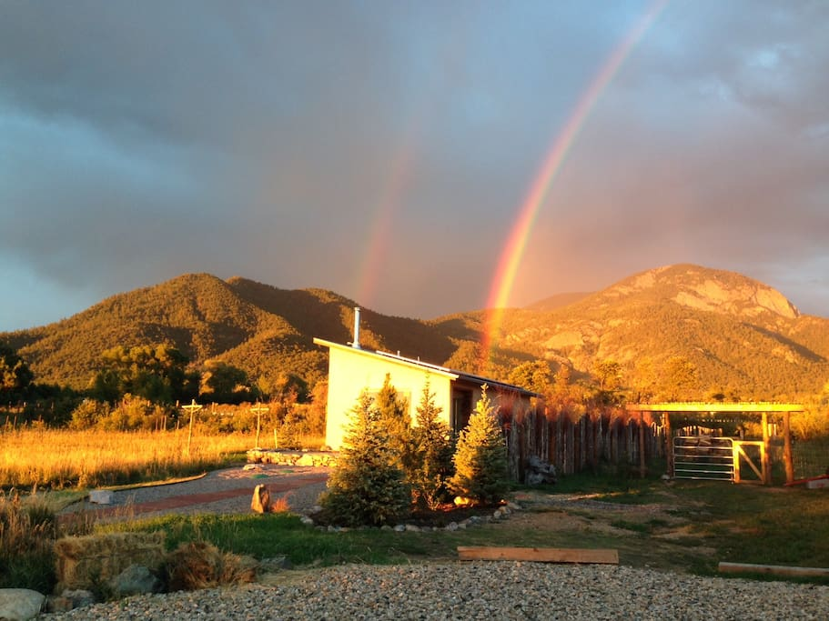 Casita-ita at the end of the rainbows!