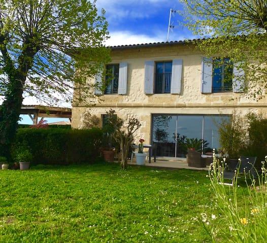 """Maison """" du bois breton"""" - Camblanes-et-Meynac - Ev"""