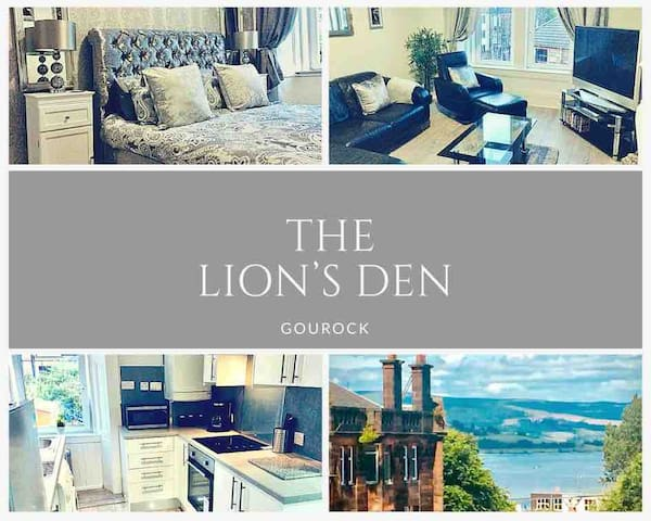 THE LION'S DEN ON ROYAL STREET IN COASTAL GOUROCK.
