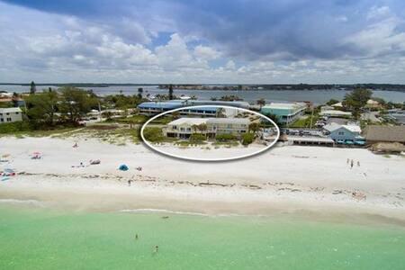 Sunny Seas: Beachfront condo