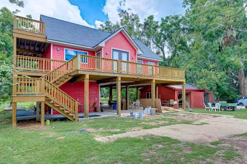 Brazos Bend Big Creek Tree House