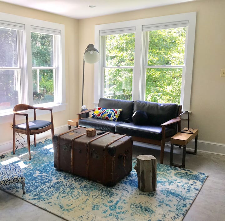 Garden Apt.-Long-term Rental-Takoma, walk to Metro