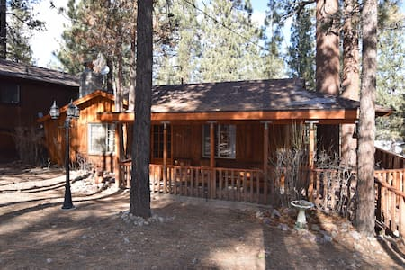 2 bd 1 bath Spa WiFi Rock fireplace - Big Bear - Cabane