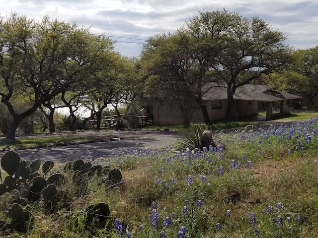 Bliss on Buchanan is surrounded by the beautiful Texas Hill Country