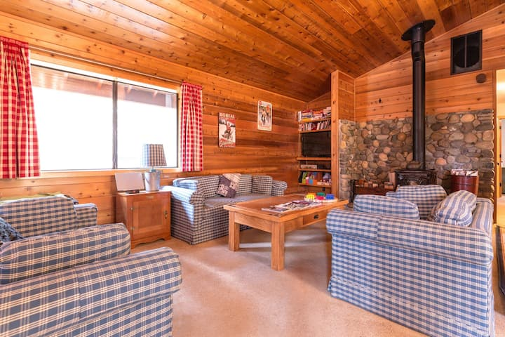 A private game area, close to slopes, on-site golf & shared pools and hot tubs!