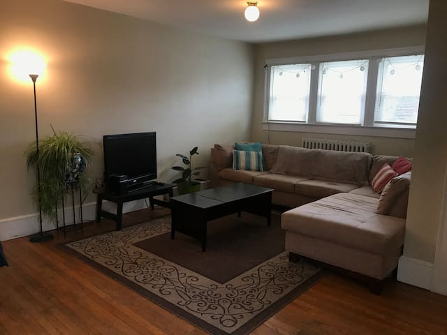 Walk to downtown & VT Campus. Spacious 2 bedroom