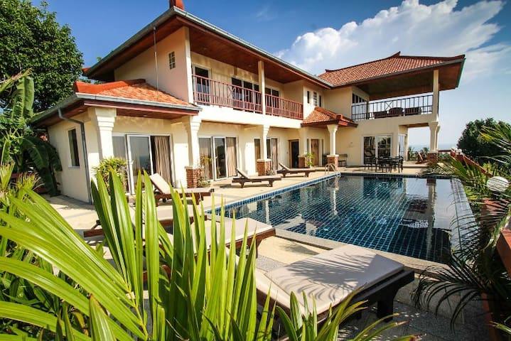 Klong Kong Hill Villa 2 - Amphoe Ko Lanta - Hus