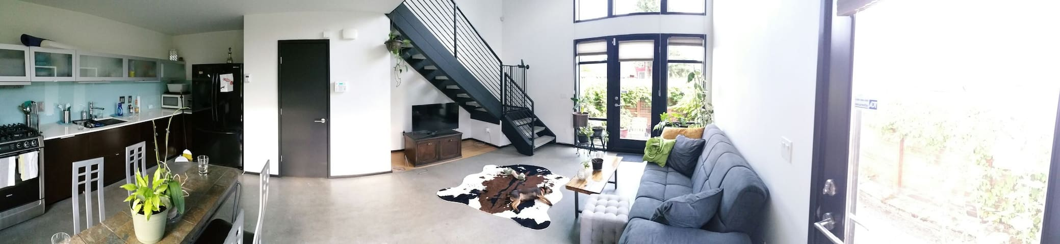 Urban Oasis 1 Bedroom Loft - Seattle - Loft