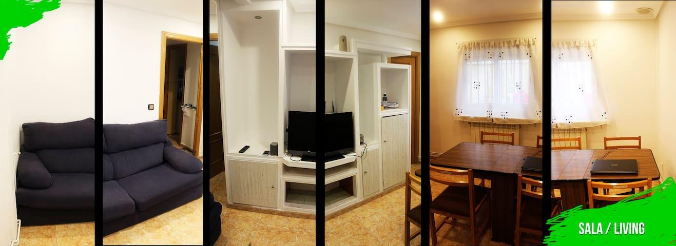 Habitación compartida Leganes (a 100 metros UC3M) - Leganés - Apartament