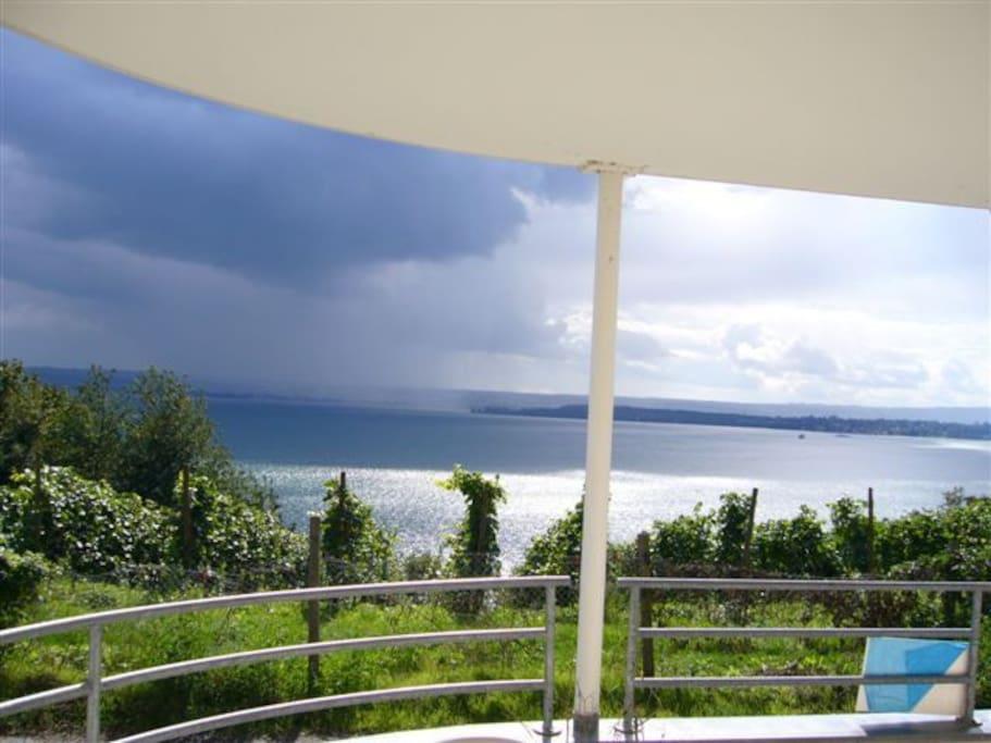 Blick vom Südwest-Balkon