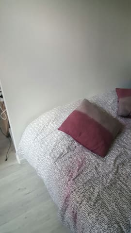 Une chambre propre avec lit 2 pers - Troyes - Lägenhet