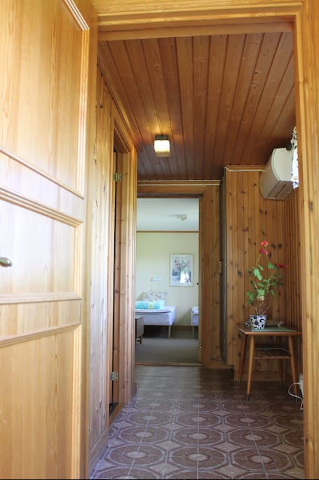 Entrance to apartment on first floor (ground level)