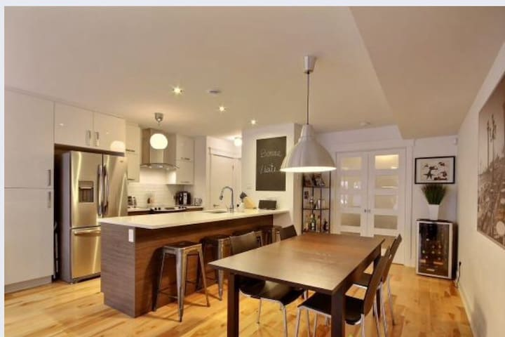 Charming flat 800 meters from metro - Montréal - Appartement